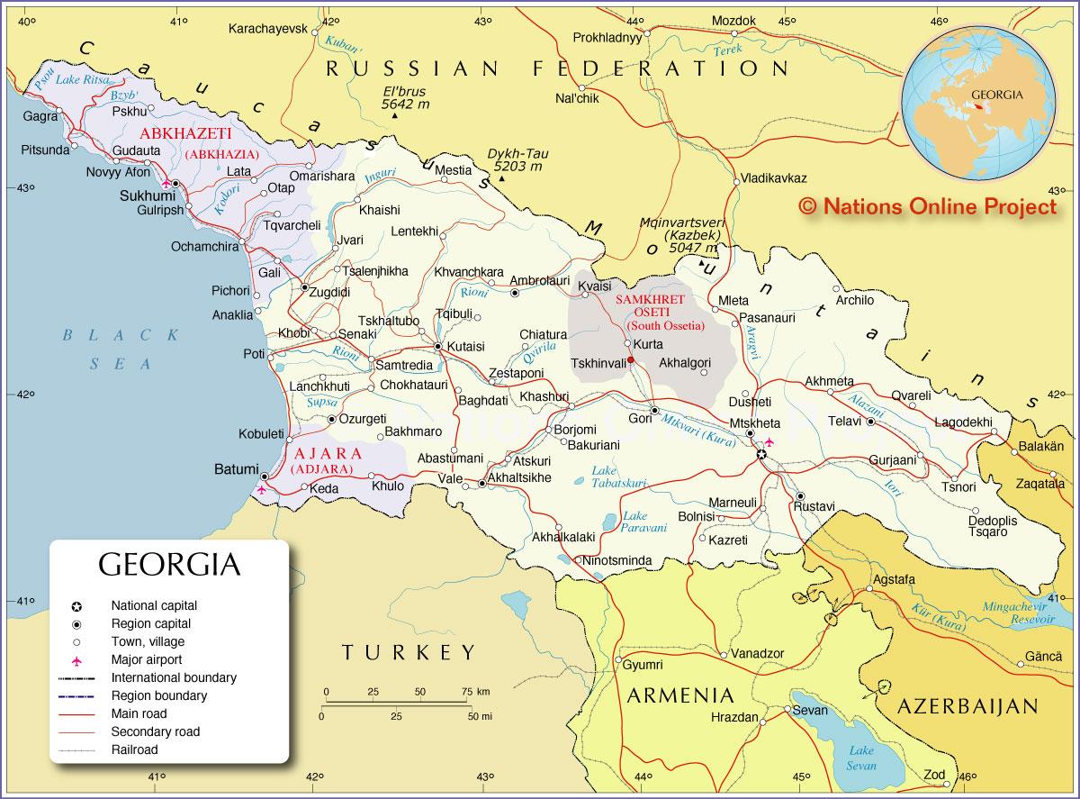 Reperes Pays Geographie Et Elements Historiques