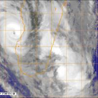 Fanele, cyclone tropical intense, devrait toucher terre demain matin