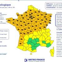 Alerte météo : Violente tempête sur la France
