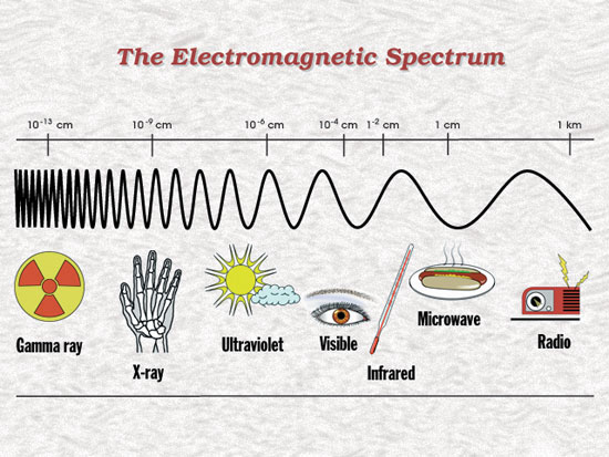 what are microwaves wavelengths of