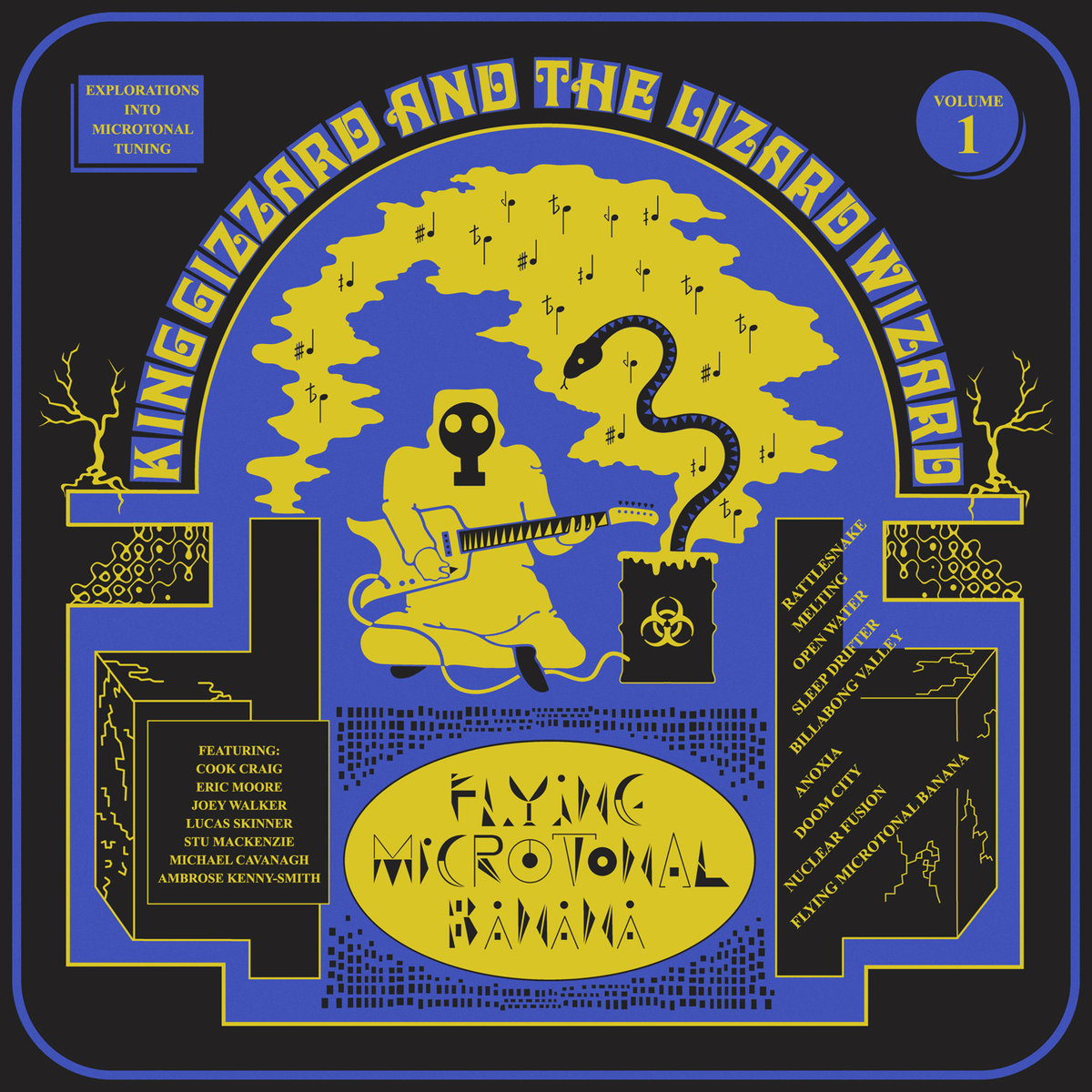 KING GIZZARD & THE WIZARD LIZARD – Flying Microtonal Banana