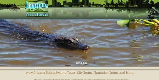 Louisiana Swamp Tours E-Commerce