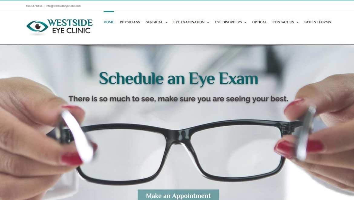 Westside Eye Clinic Website