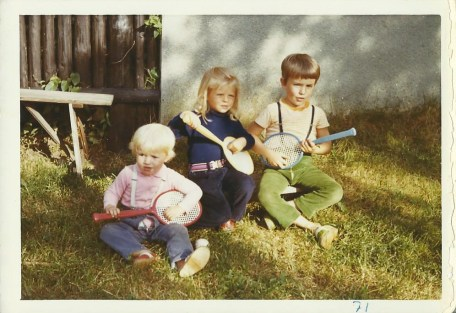 First band... With cousins Beppan and Gregor.