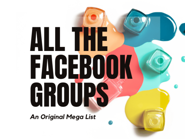 Facebook Groups Listpalooza