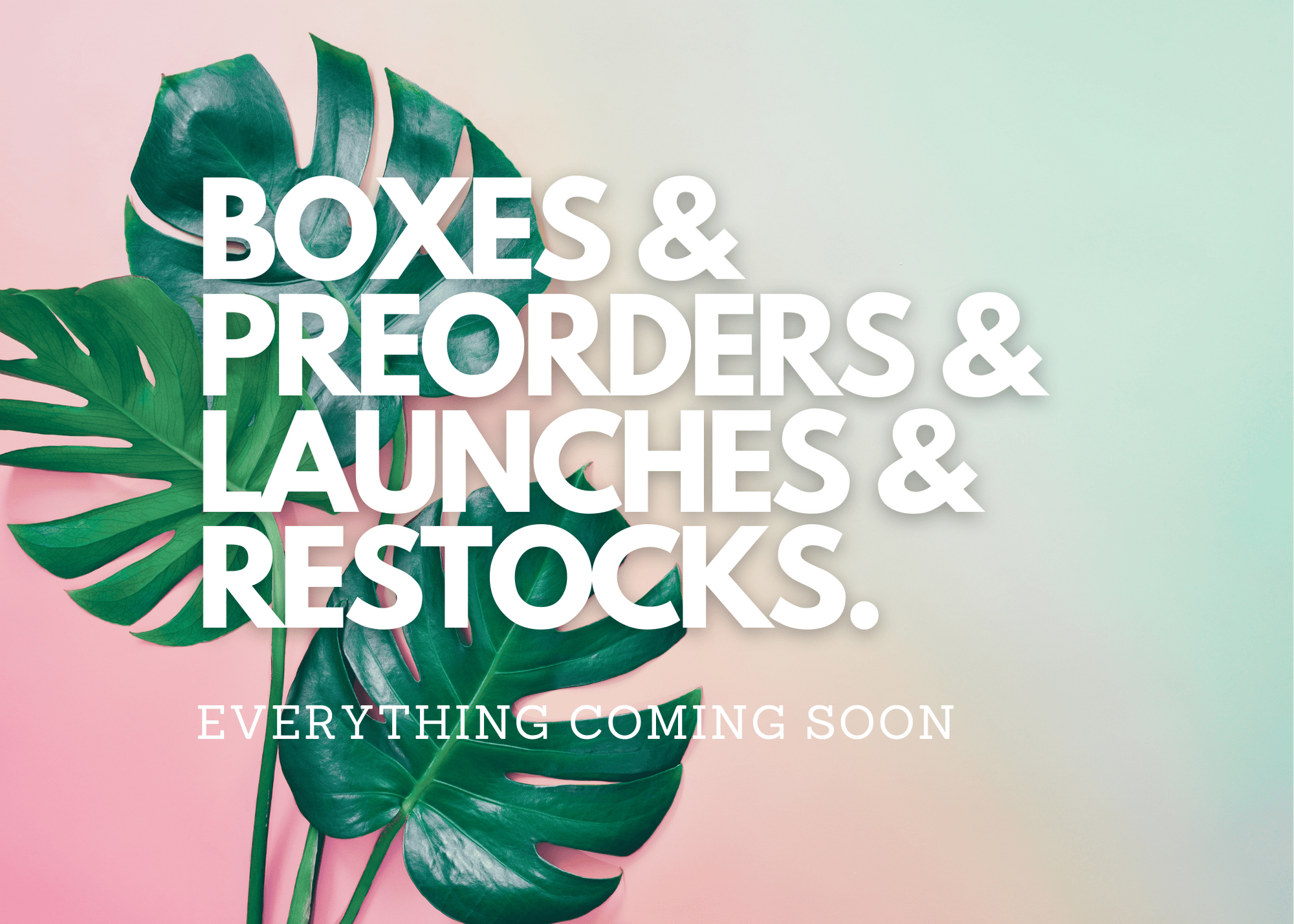 April 2021 – Everything Coming Soon