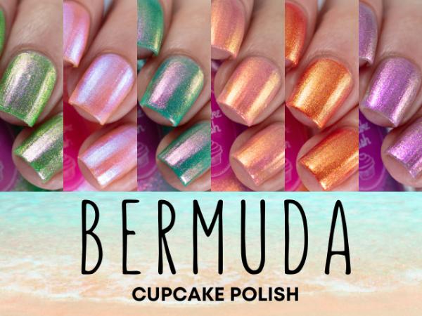 Cupcake Polish – Bermuda Collection