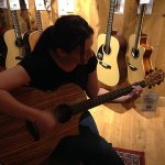 Shannon Renée Shopping for a New Guitar