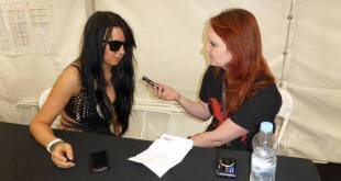 Toxic Vision interview with Sharon, Bloodstock 2013