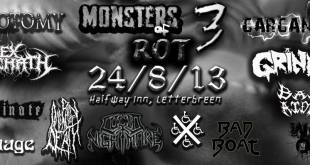 Monsters Of Rot III flyer