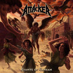 Attacker - Giants Of Canaan Artwork