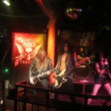 Sister Sin at Satan's Hollow, Manchester on the opening night of their UK tour.