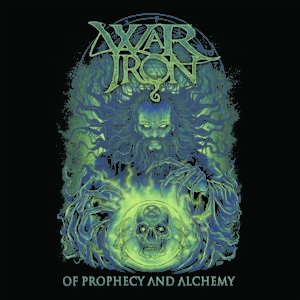 war iron - of prophecy - album cover