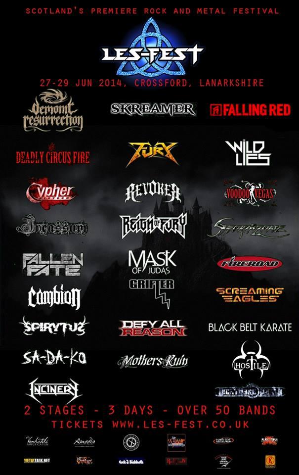 Les-Fest 2014 3rd announcement