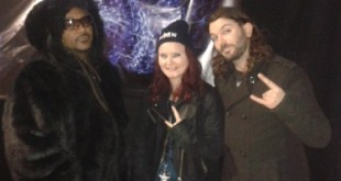 Skindred with Benji Webb and Arya Goggin at Hard Rock Hell – 19/11/13