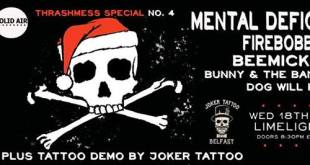 Mental Deficiency – Limelight 2, Belfast – 19 December 2013