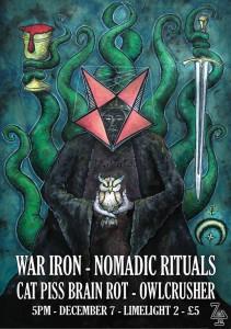 War Iron Gig Poster