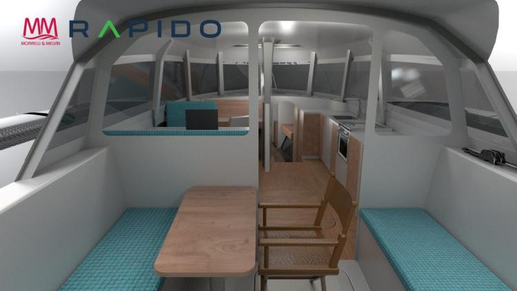 Rapido 50 Cockpit and cabin