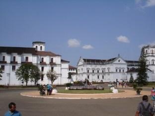 Old Franciscan church, Old Goa