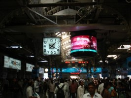 The big clock from Slumdog Millionaire