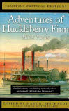 the cover of Adventures of Huckleberry Finn