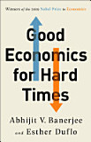 the cover of Good Economics for Hard Times