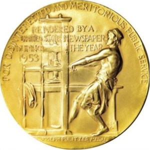 the logo of Pulitzer Prize for Fiction