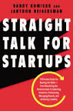 the cover of Straight Talk for Startups
