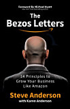 the cover of The Bezos Letters