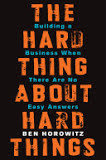 the cover of The Hard Thing About Hard Things