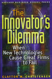 the cover of The Innovator's Dilemma
