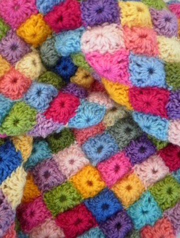 Sophie Digard inspired crochet scarf