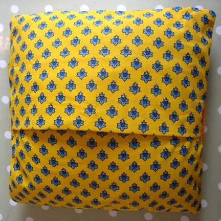 Provençal Print cushion back
