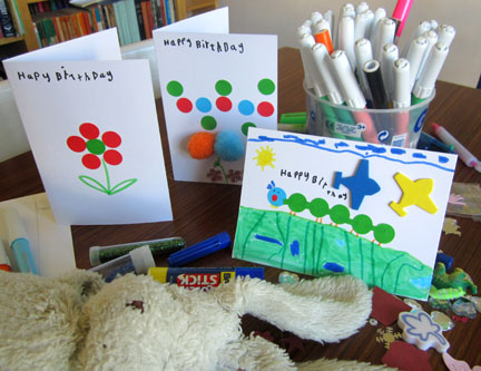 hand made birthday cards