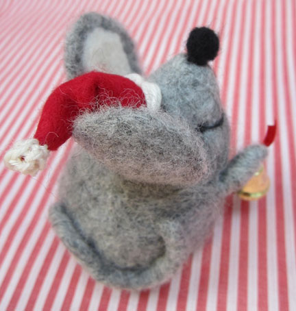 Christmas Mouse for Advent Day 2