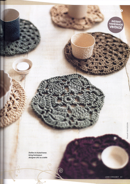 Love Crochet Magaxzine - Advent Calendar day nine