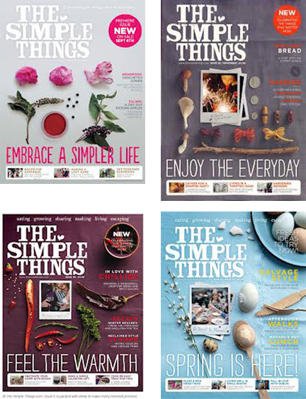 The simple thing Magazine covers