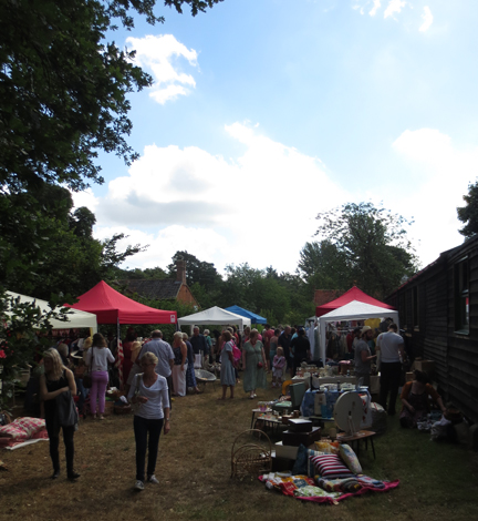 Stalls at Little Vintage Lover Fair
