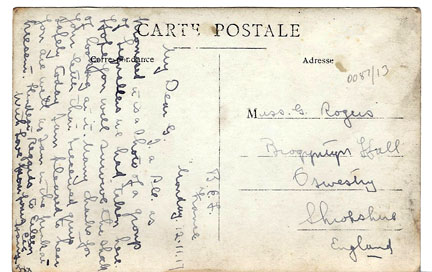 postcards - Miss G Rogers