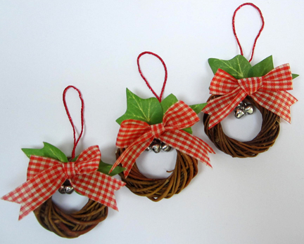 bow tutorial Christmas Countdown