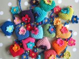 Hearts and Flowers Garland crochet pattern