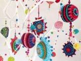 Christmas Crochet Baubles pattern