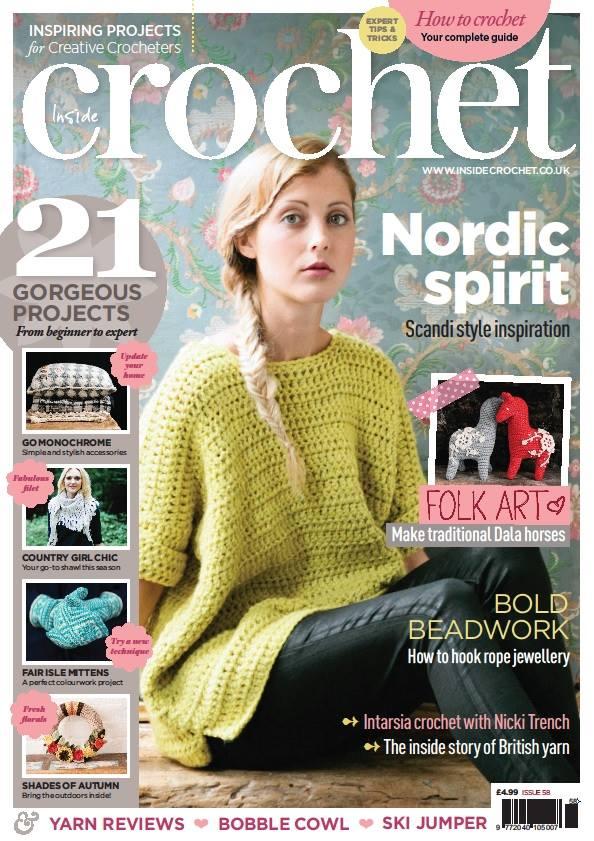 Inside Crochet Magazine cover