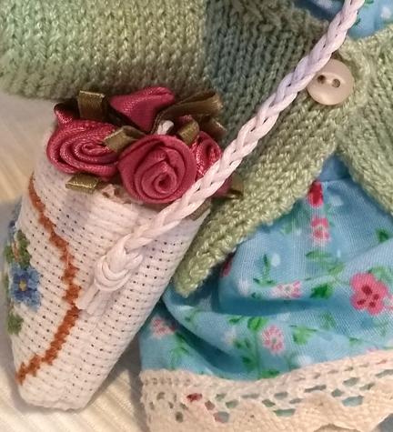 Bag of Ribbon roses