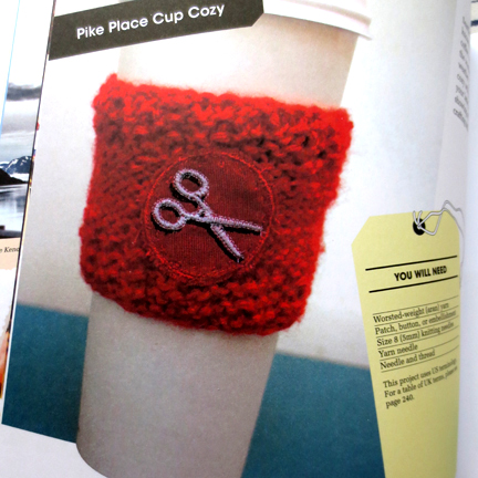 cup cozy - Cut Out + Keep review