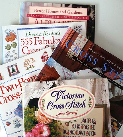 Cross Stitch books