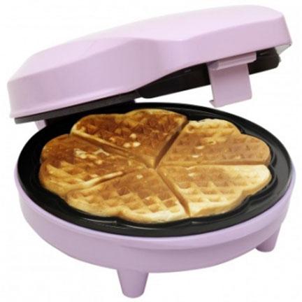 heart shape waffle maker