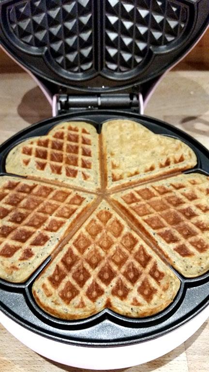 Bestron waffle maker
