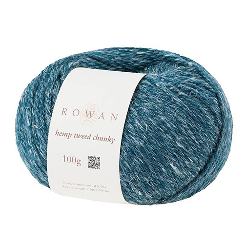 Rowan Hemp Tweed Chunky - Sea