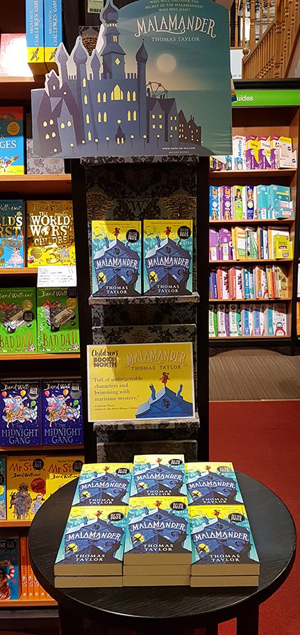 Waterstones Childrens' Book of the Month for May - Malamander